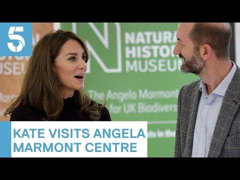 Duchess of Cambridge visits Natural History Museum | 5 News