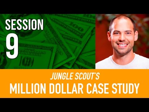 AMAZON FBA best practices 👍  Million Dollar Case Study | Jungle Scout I Session 9