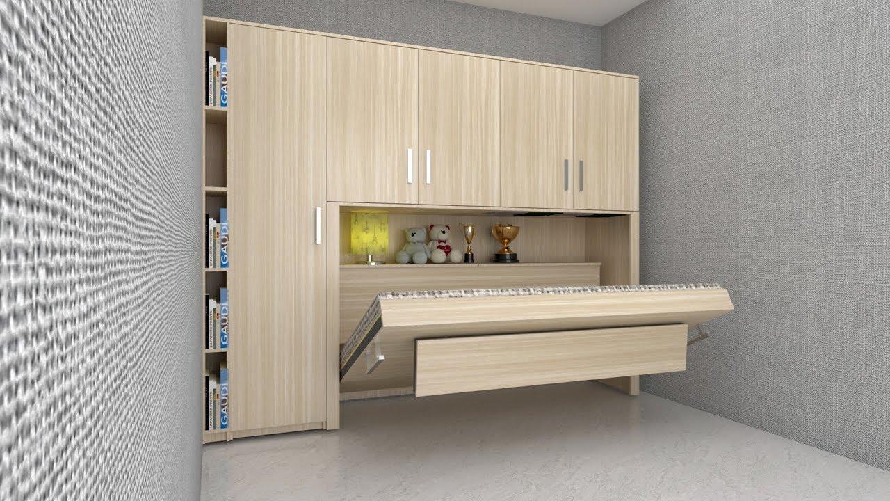 Giường ngủ thông minh V10 - Giường gấp gọn -Giường xếp gọn - nội thất thông minh