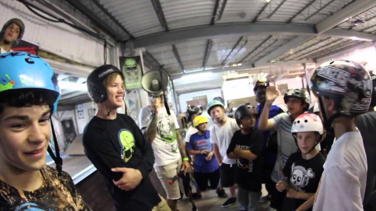 Madd Gear Scooters at 5050 Skatepark with MGP s Ryan R Willy
