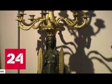 Роскошные интерьеры одного из красивейших дворцов Петергофа воссоздали в Царицыне - Россия 24