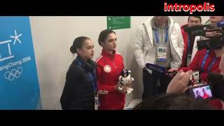 Загитова  Медведева  поздравляют мужчин с Днем защитника Отечества  23 февраля