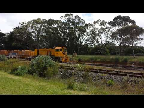 Y148 shunting at western port Hastings