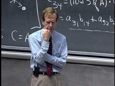 Lec 3 | MIT 18.06 Linear Algebra, Spring 2005