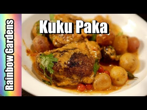 Kuku Paka,  East Africa Chicken and Potatoes, Garden Fresh! A Family Favorite!