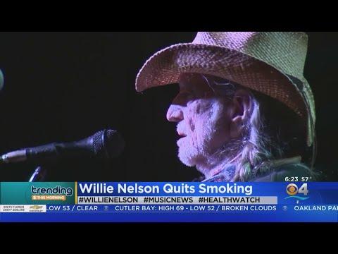 David Fisch - Willie Nelson Quits Smoking Weed!