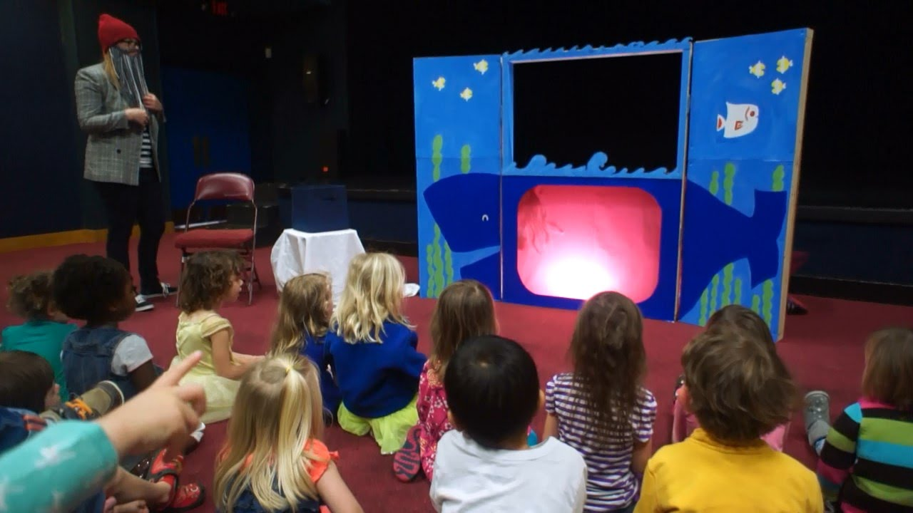 Shadow Puppet Theatre Show For Children Youtube