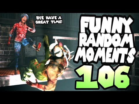 Dead by Daylight funny random moments montage 106
