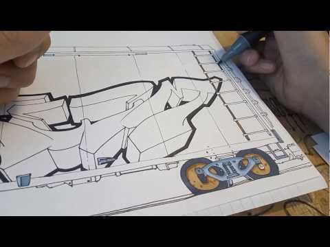 ⚫️#05 Graffiti Blackbook Sketch ⚫️TeeM1