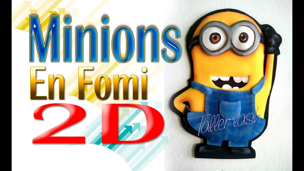 Moldes Para Fomi De Minions | apexwallpapers.com