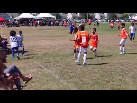Hugo Patel Thompson (#11 Orange) - ProTouch Lions vs HighLine Seattle @ U10 Skagit Super Cup Final