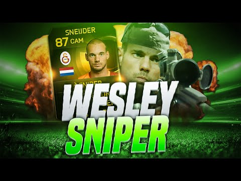 SNEIJDER THE SNIPER AND THE BEST LONG SHOT EVER! FIFA 15 ULTIMATE TEAM