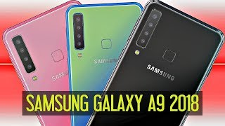 Samsung Galaxy A9 2018 : 4 camera đầu sau tiên trên smartphone và cái giá cao ngất ngưởng