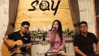 Đừng ai nhắc về anh ấy (cô ấy) | Guitar Tân Bo Cover | Hồng Anh | Cajon Vũ Trấn | Say Acoustic Cafe
