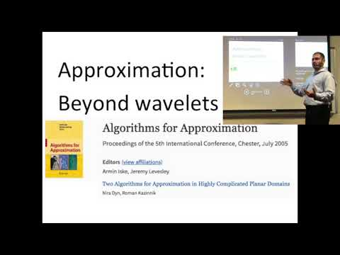 Approximation theory, AI, and how they actually go together (talk at UNCC)