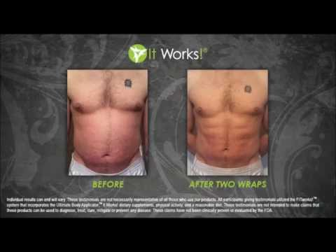 Atlanta Body Wraps: It Works Body Wraps – Men Wrap Too!