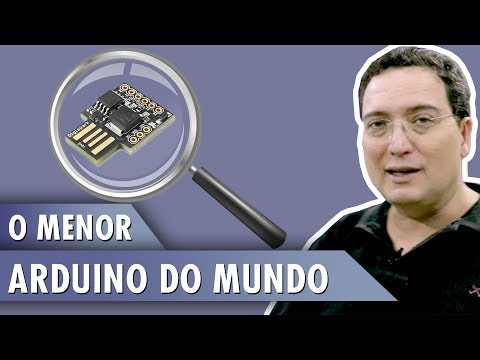 ATTINY – O Menor Arduino do Mundo