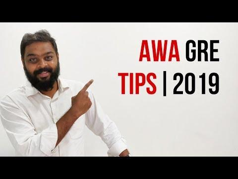 AWA GRE Tips | 2019