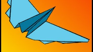 How To Make The Panther Paper Airplane Video Instructions