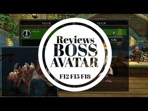 Avabel Online : Reviews Avatar Boss F12 F15 F18 | TTG