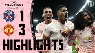 Highlights  Solskjaer39s young stars stun PSG  PSG 1-3 Manchester United  UEFA Champions League