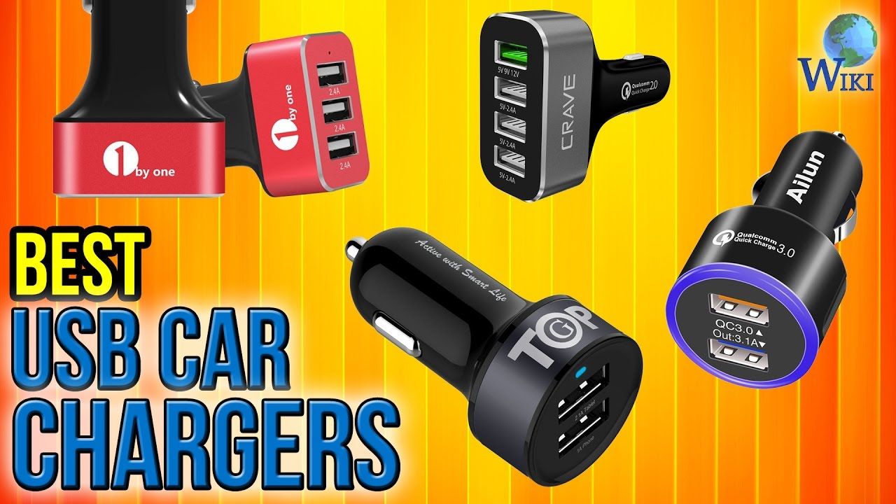 10 Best USB Car Chargers 2017