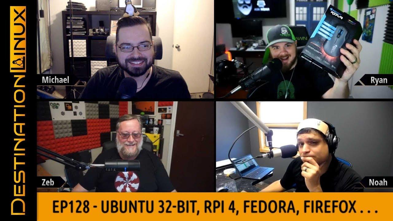 Destination Linux EP128 – Ubuntu 32-bit Fiasco, Raspberry Pi