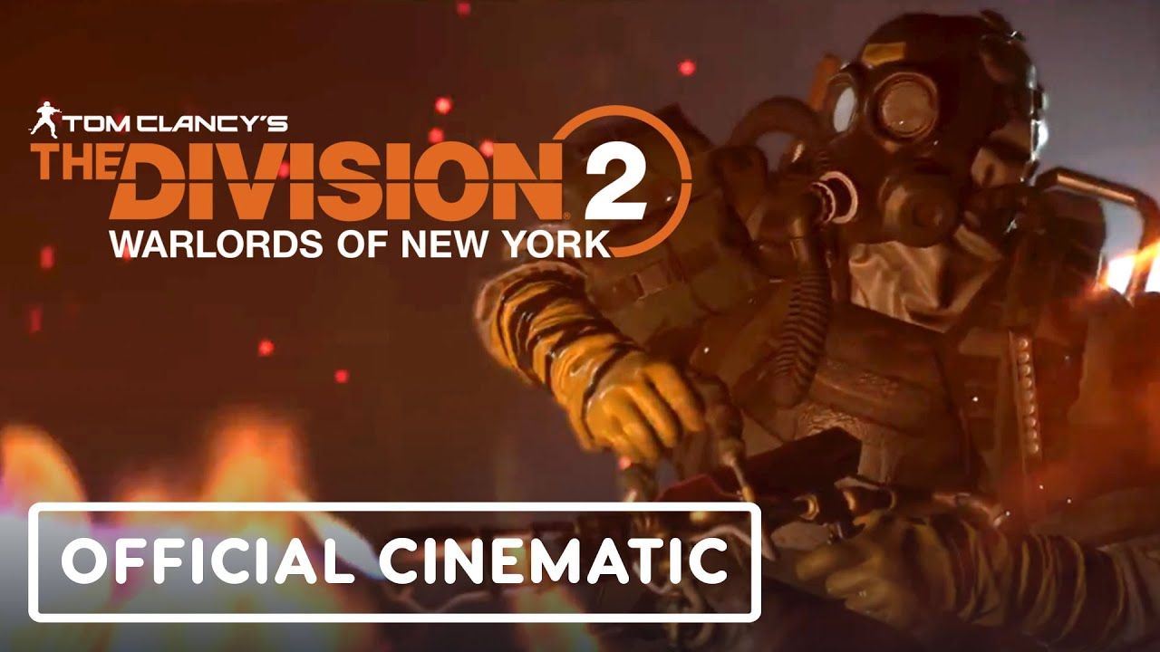 Tom Clancy's The Division 2: Warlords of New York - Trailer cinematográfico oficial + vídeo