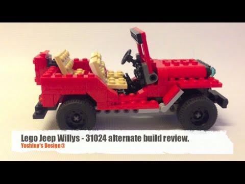Lego Jeep Willys