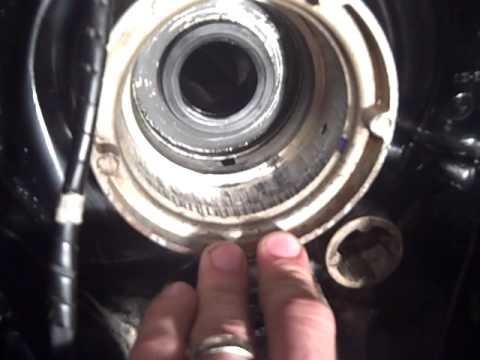 1989 Mercruiser 4 3 V6 - Transom Assembly Install - Oil Seal