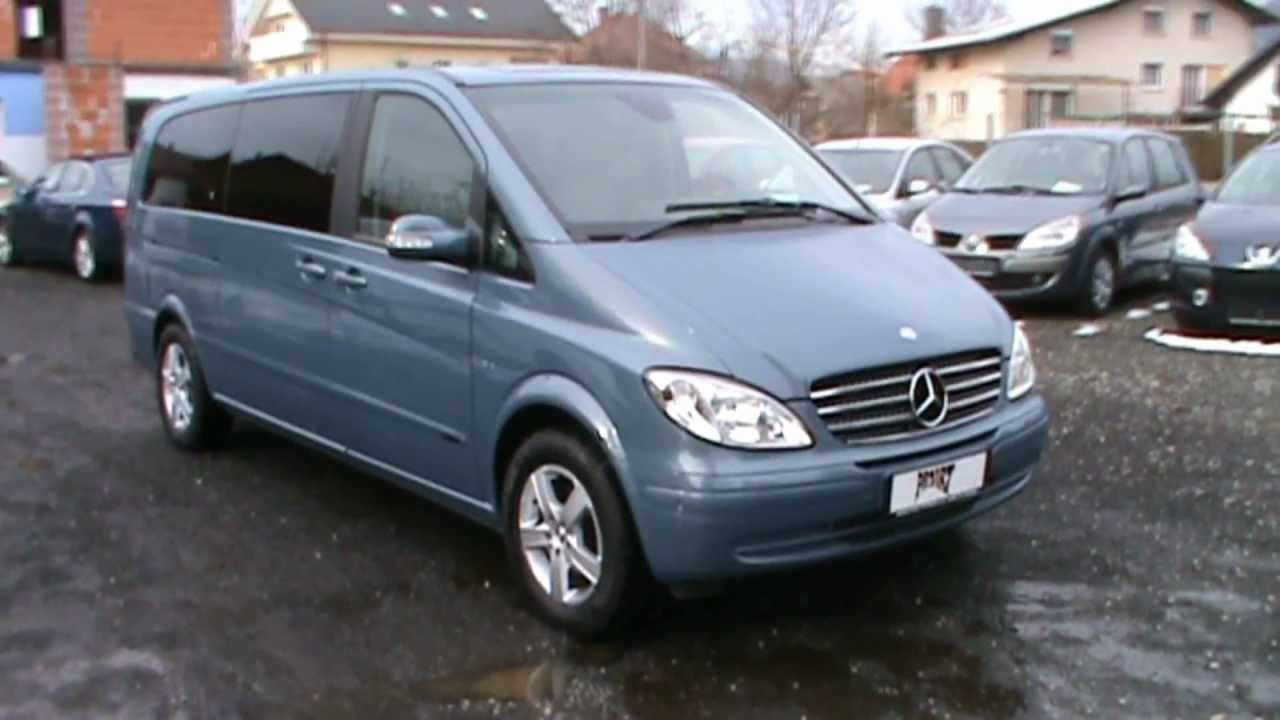2007 mercedes benz viano 3 0 cdi automatik long youtube. Black Bedroom Furniture Sets. Home Design Ideas