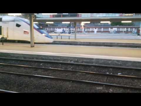 TGV Duplex Carmillon Lille Flandres Paris Nord 21h20