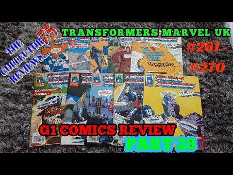 Transformers G1 Marvel UK Comics Review Part 28 #261 - #270