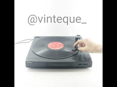 Turntable Vintage SONY Automatic Stereo Turntable System PS-LX52P Japan