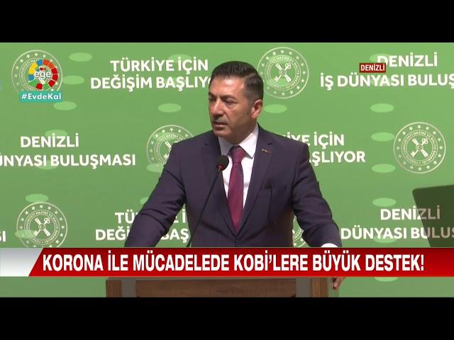 Ege TV-Korono ile mücadelede KOBİ'lere büyük destek 30.04.2020