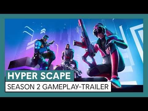 Hyper Scape Season 2: Gameplay-Trailer | Ubisoft [DE]