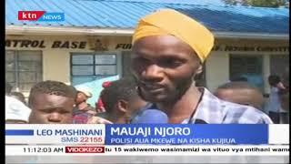 Mauaji Njoro polisi aua mkewe na kisha kujiua