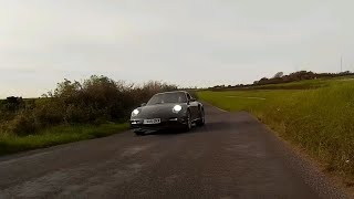 everyone look at my Porsche - dangerous and dumb driver