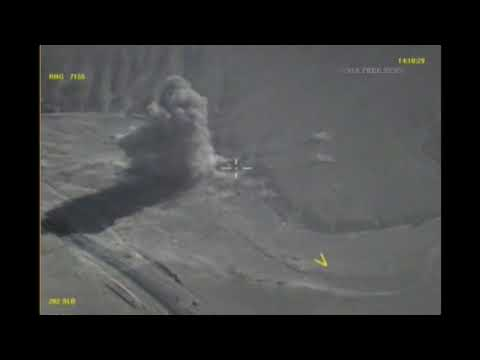 RuAF strikes against ISIS position in Syria. Deleted video 3