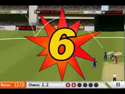 Cricket 3d Animated Games