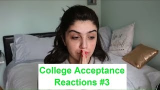 College Acceptance Reactions Compilation 2018 #3