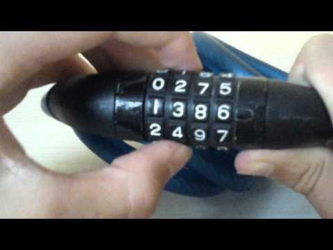 Petite astuce pour ouvrir un cadenas de valise doovi - Comment changer le code d un cadenas ...