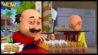 Motu Patlu New Episode  Cartoons  Kids TV Shows  Motu Patlu Omelette Pav Shop  Wow Kidz