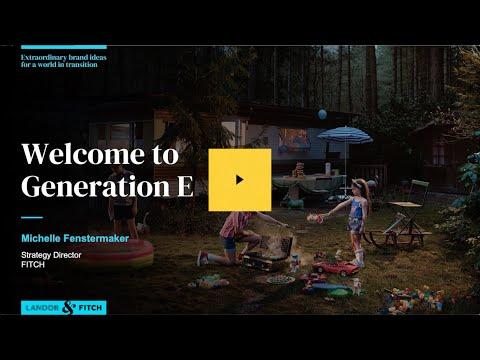 Extraordinary Webinar: Welcome to  Generation E