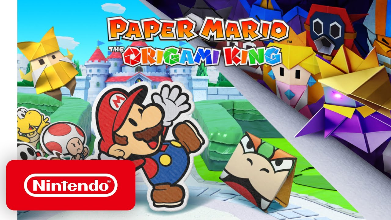 Nintendo announces 'Paper Mario: The Origami King' for Switch