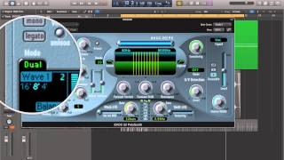 Logic Pro X - Video Tutorial 57 - EVOC20 Vocoder