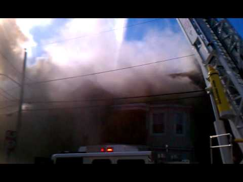 Tremont Street Fire Fall River, Ma. Video 2