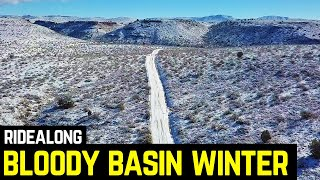 Historic Bloody Basin Road Winter Adventure - Arizona Overland…