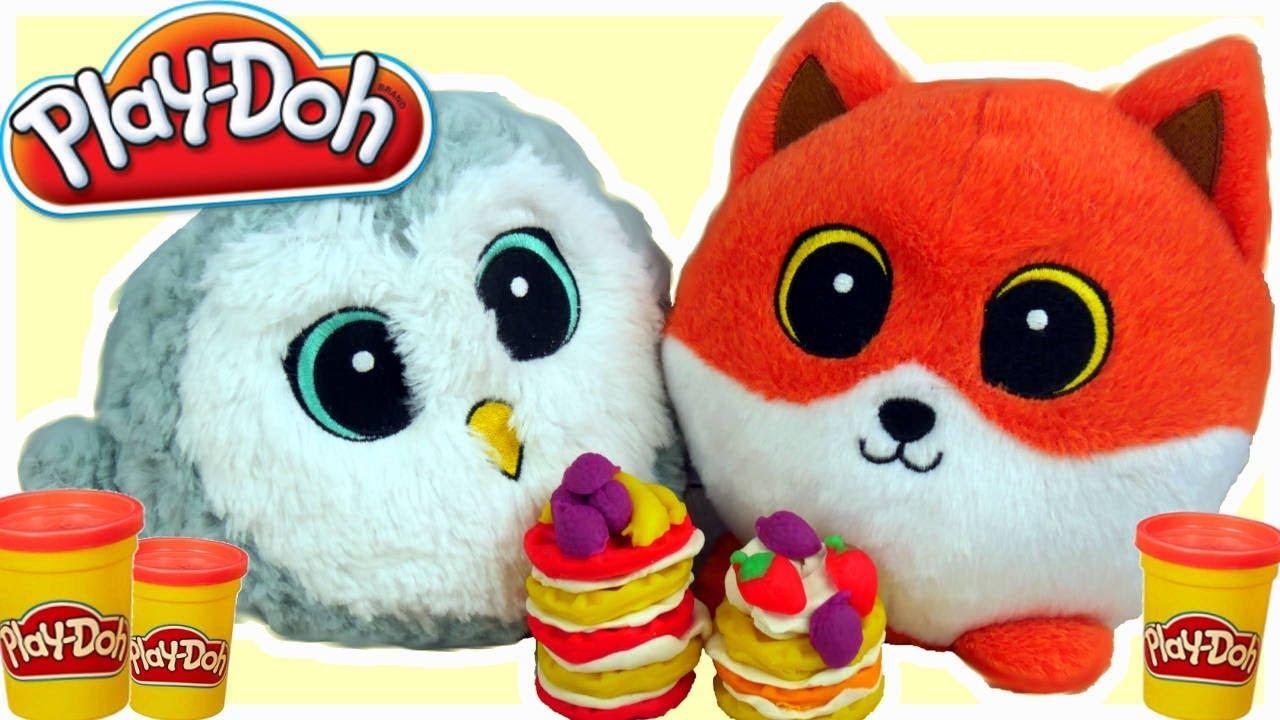 Play Doh & Gang Słodziaków • Gofry Challenge • bajki dla dzieci