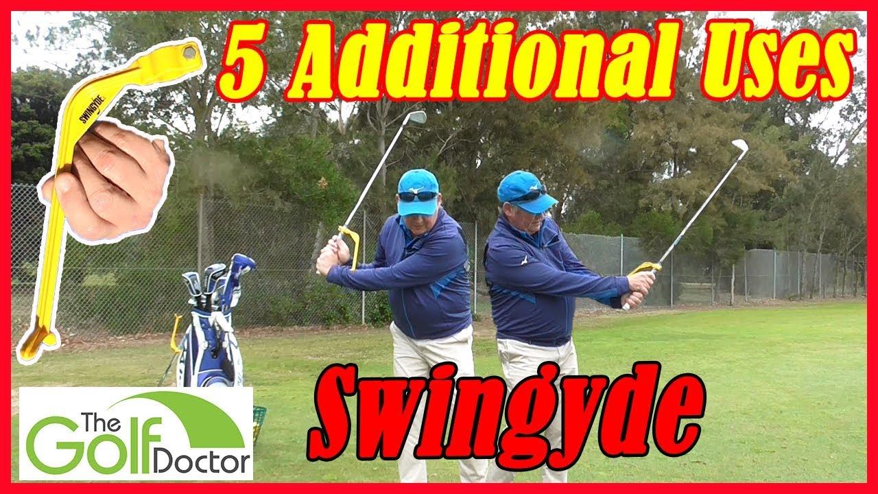 Swingyde Golf Swing Training Aid 5 Drills